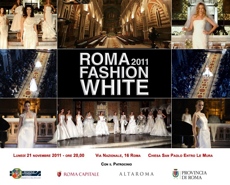 Sfilata Alta Moda - ROMA FASHION WHITE 2011