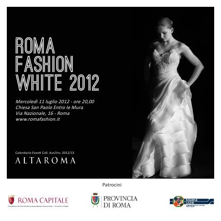 SFILATA ROMA FASHION WHITE 2012