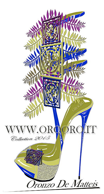 Sketches Shoes Collections 2015 by Director Creative Oronzo De Matteis